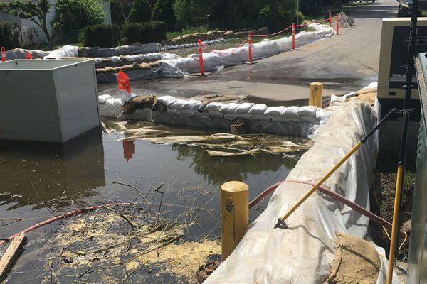 Flood Monitoring, Woods Lake