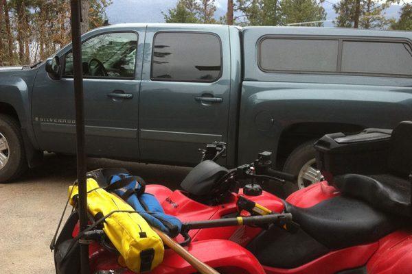 Quad Setup With GPS Gear