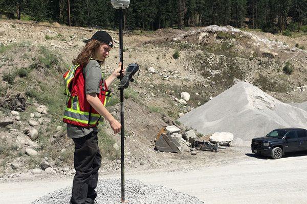 Volume Survey at Gravel Pit